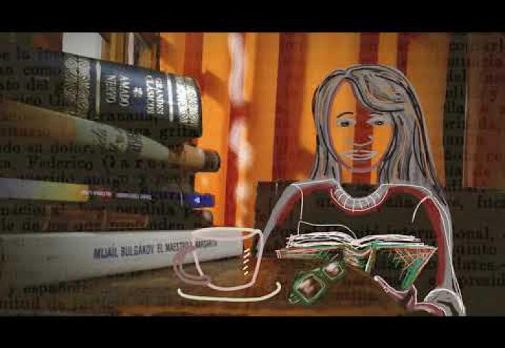 Embedded thumbnail for En este 2020 los libros nos ayudaron a librar una batalla...
