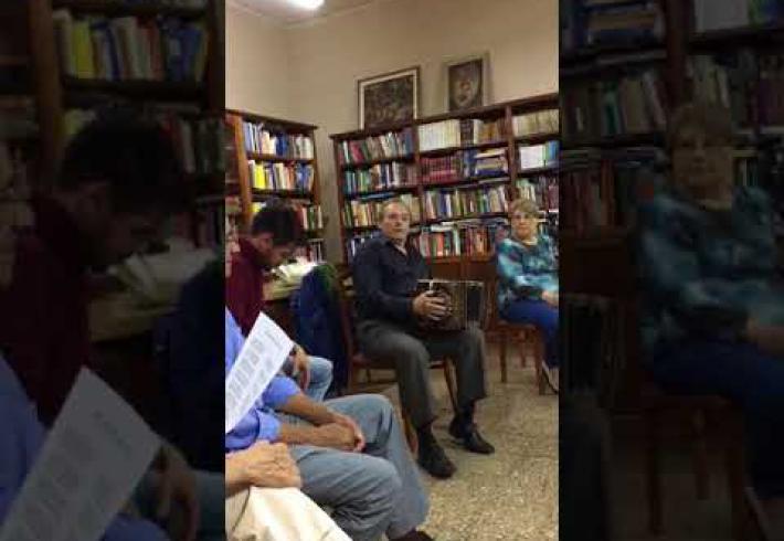 Embedded thumbnail for PEÑA DE LECTURA 2018 - UN AMOR EN TIEMPOS DE TANGO