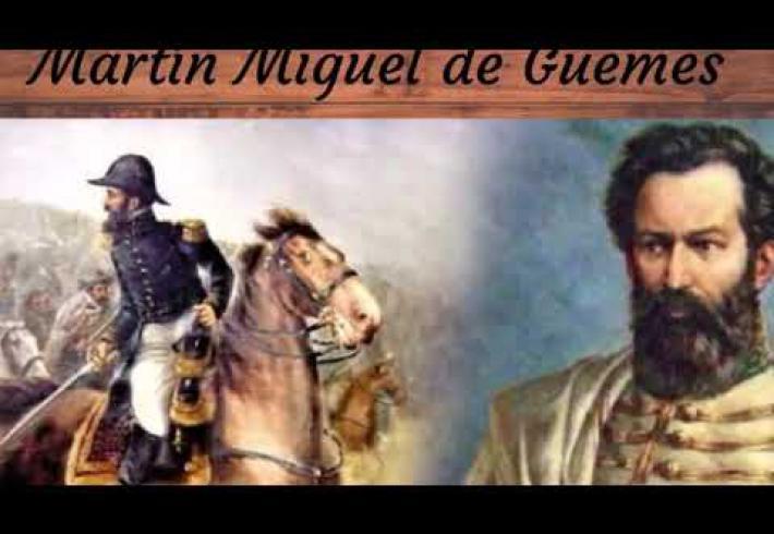 Embedded thumbnail for 17 de junio Bicentenario de Martín Miguel de Güemes
