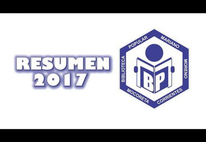 Embedded thumbnail for Resumen 2017